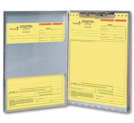 Letter Size Business Forms Holders (D904) - Supplies Forms  - Business Forms
