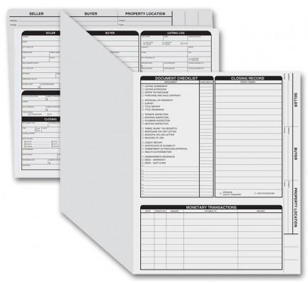 Letter Size Real Estate Folders