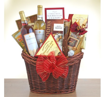 Marvelous Moscato Gourmet Basket