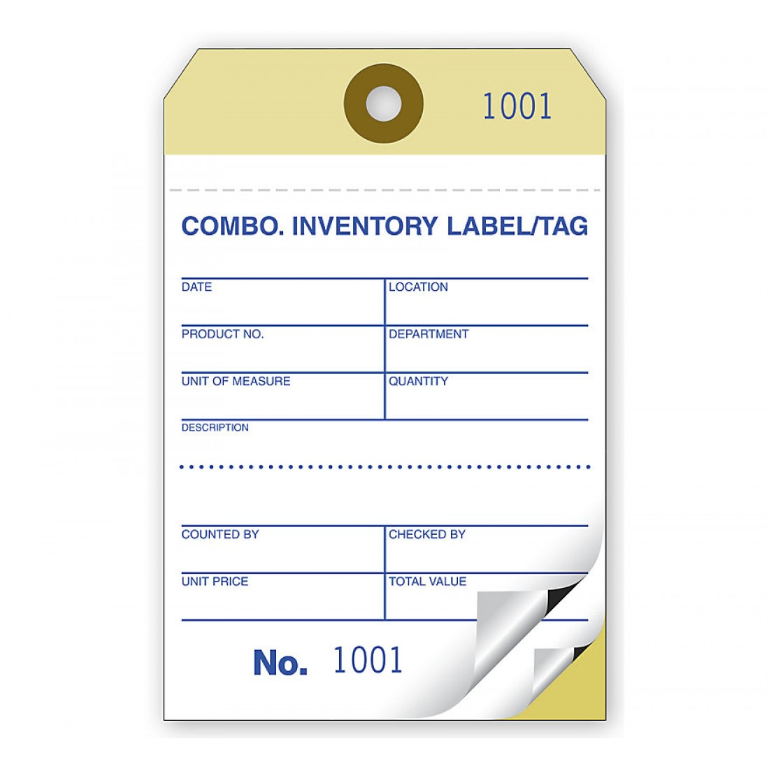 Medium Sized Inventory Tags