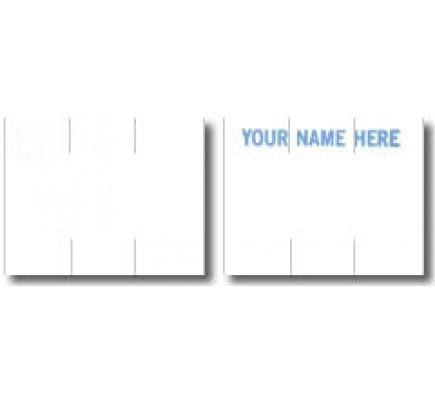 Monarch White Labels In Rolls