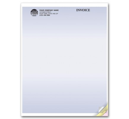 Multi Purpose Forms, Laser, No Perforation compatible with QuickBooks