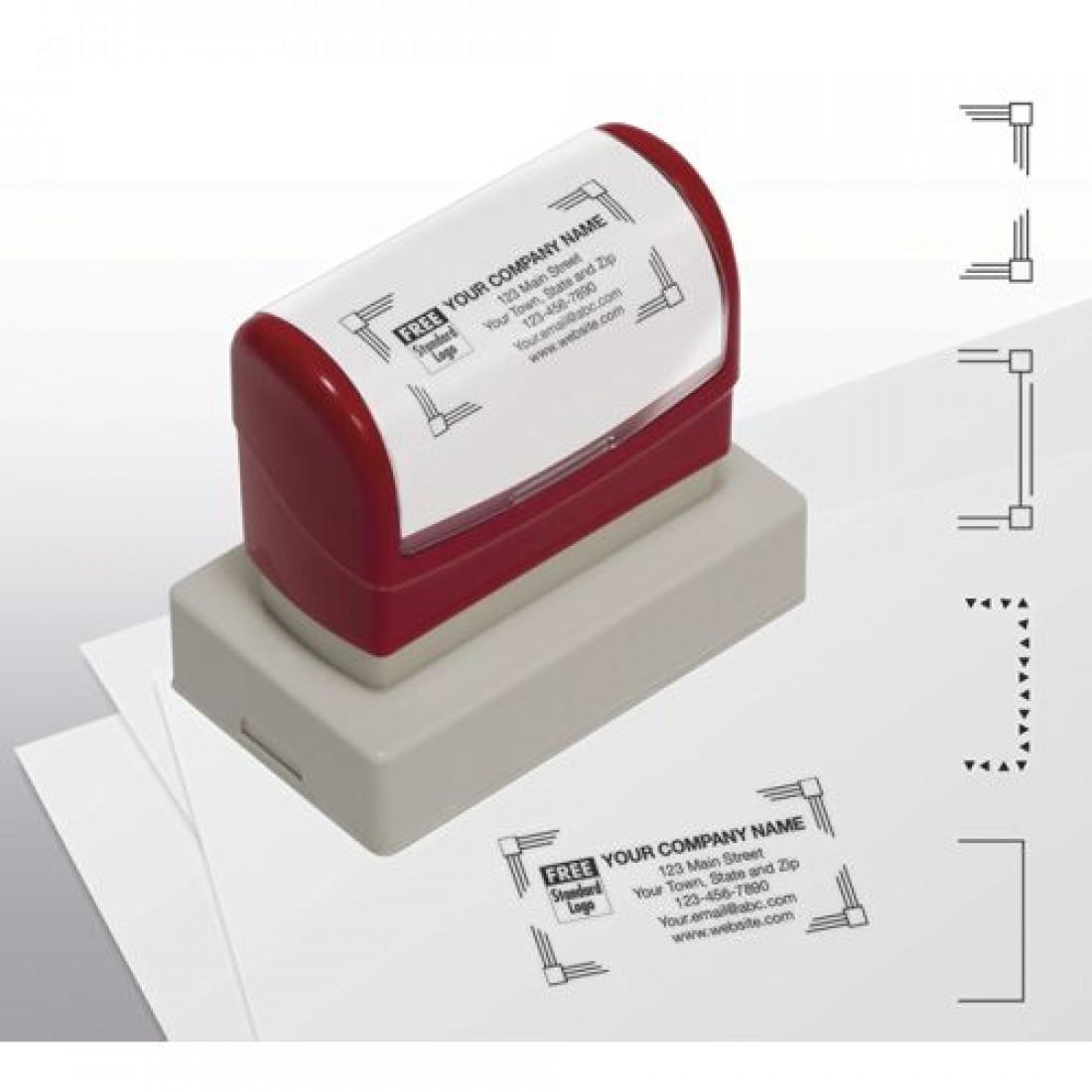 Name & Address Stamp, Large