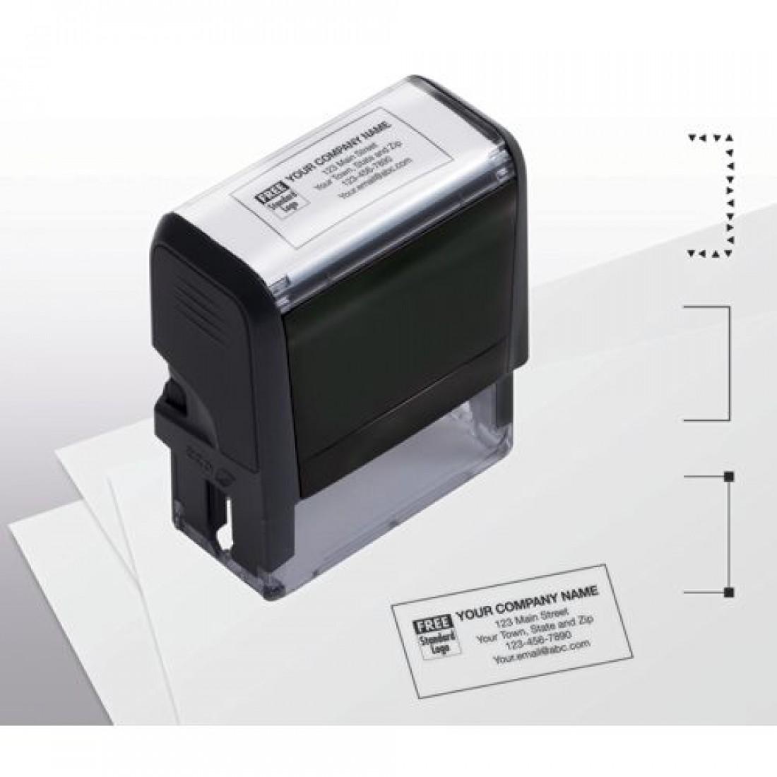 Name & Address Stamp, Medium
