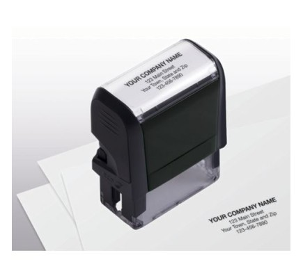 Name and Address Stamp, Small
