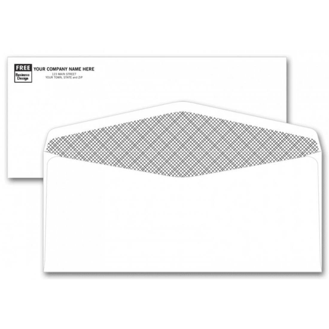 No. 10 Confidential Envelopes - No Window