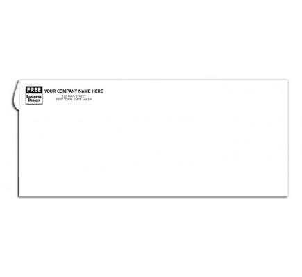 No. 10 Custom Business Printed Envelopes - No Window