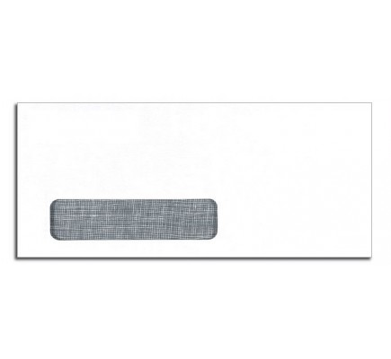 No. 10 Envelopes, Single Window, Security Tint, Self Seal