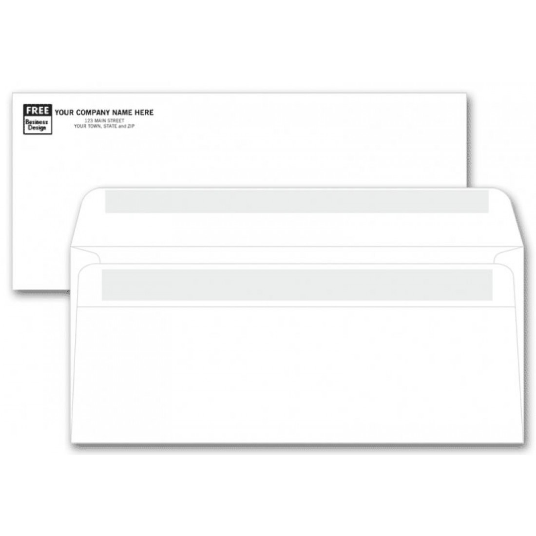 No. 10 Self Seal Envelopes - No Window