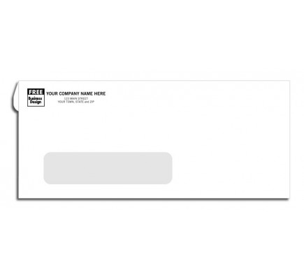 No. 10 Single Window Envelopes - Confidential