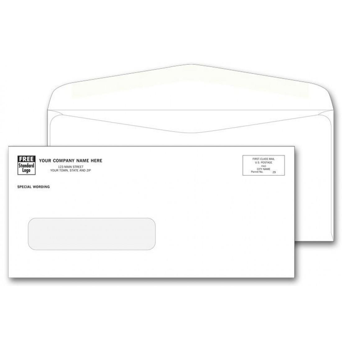 One Window Envelopes