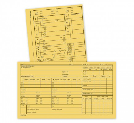 Optometry Supplementary Analytical Data Sheets