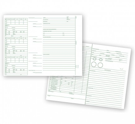 Optometry Vision Analysis Record