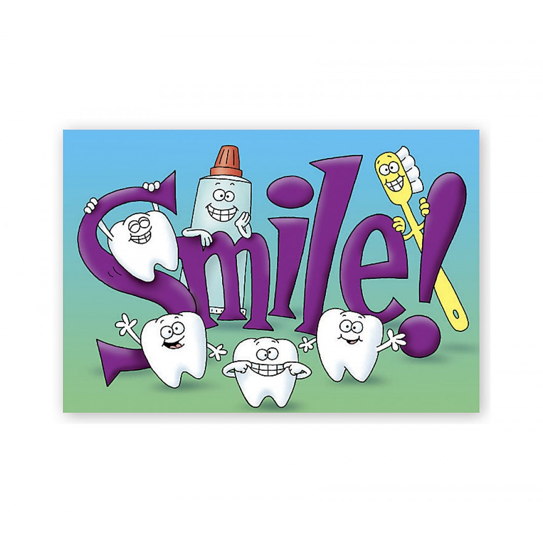 Orthodontic Laser Postcards Smile