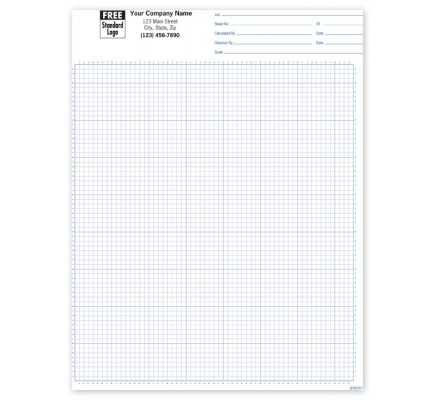 Padded Graph Paper 1/8 Inch