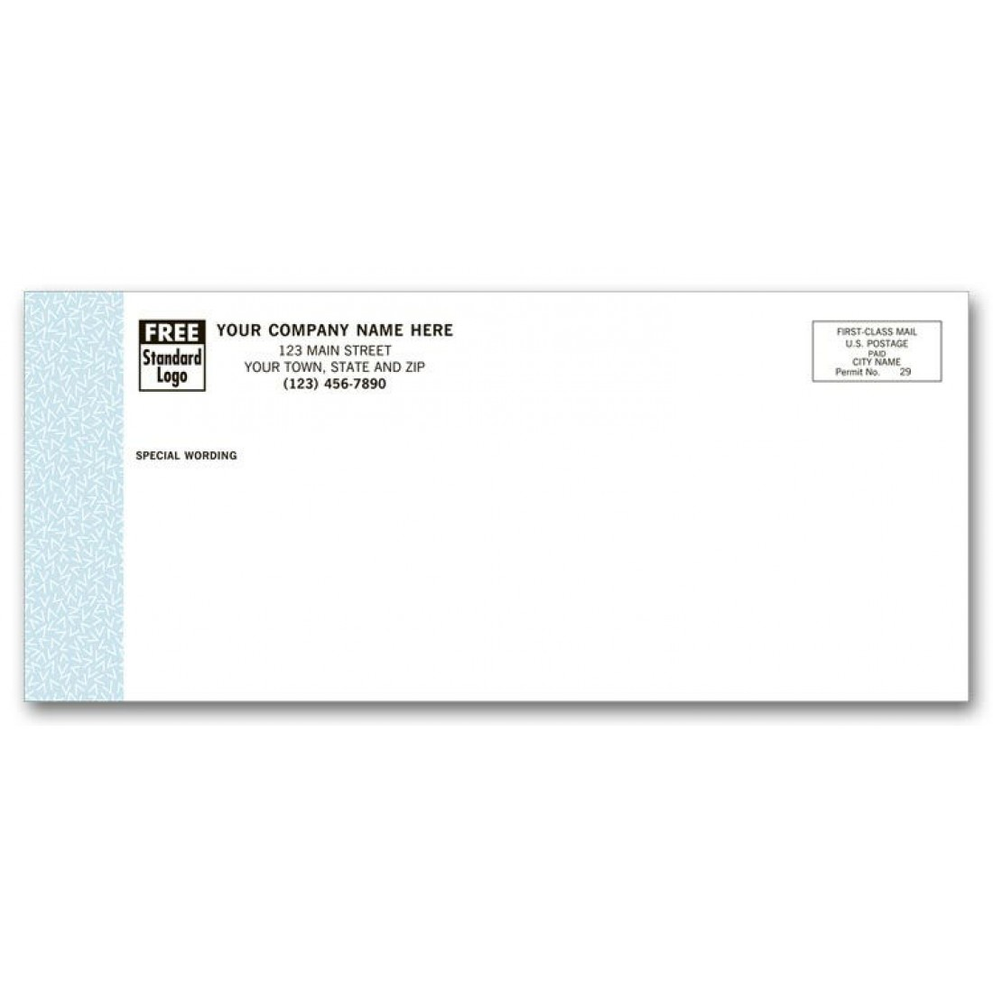 business envelope size