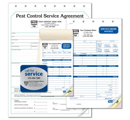 Pest Control Forms Starter Kit