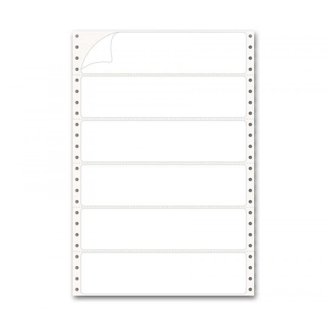 """Pinfed Typing Strip Labels 2"""""""