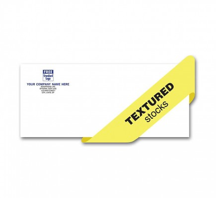 Preferred Envelope, Self Seal, 1 Or 2 Inks, Textured Stock
