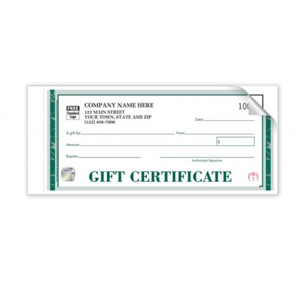 Printable Gift Certificate – Individual Sets