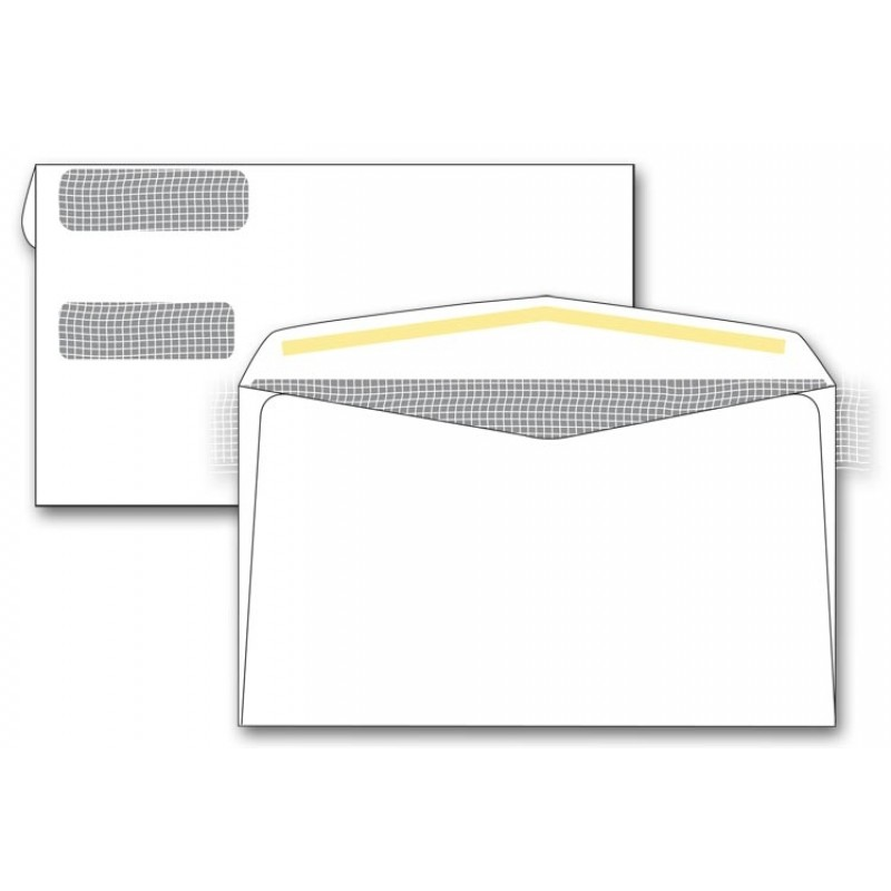 private mail 2 window envelopes free shipping