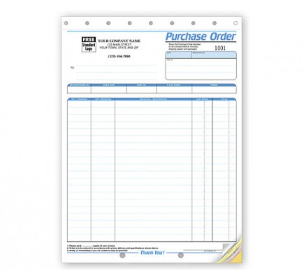 Purchase Order Business Forms