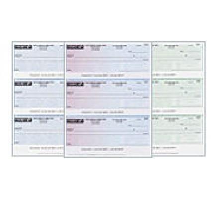 Quicken Checks / Computer Checks / 3 Checks Per Page