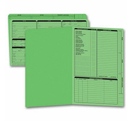 Folder Right Panel List Legal Size