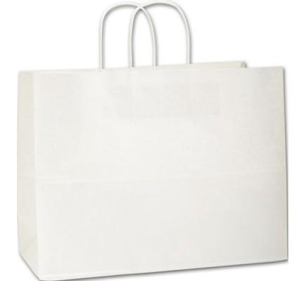 Recyc White Bag 16x6x12 1/2