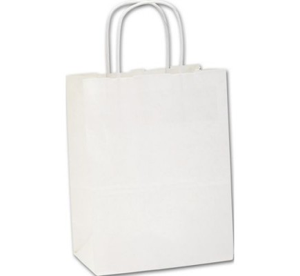 Recycled White Cub Paper Bag