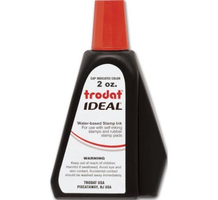 Red Ink Refill for Self-Inking Stamp