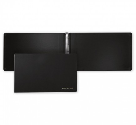 "Ring Binder 17"" X 11"" Black"