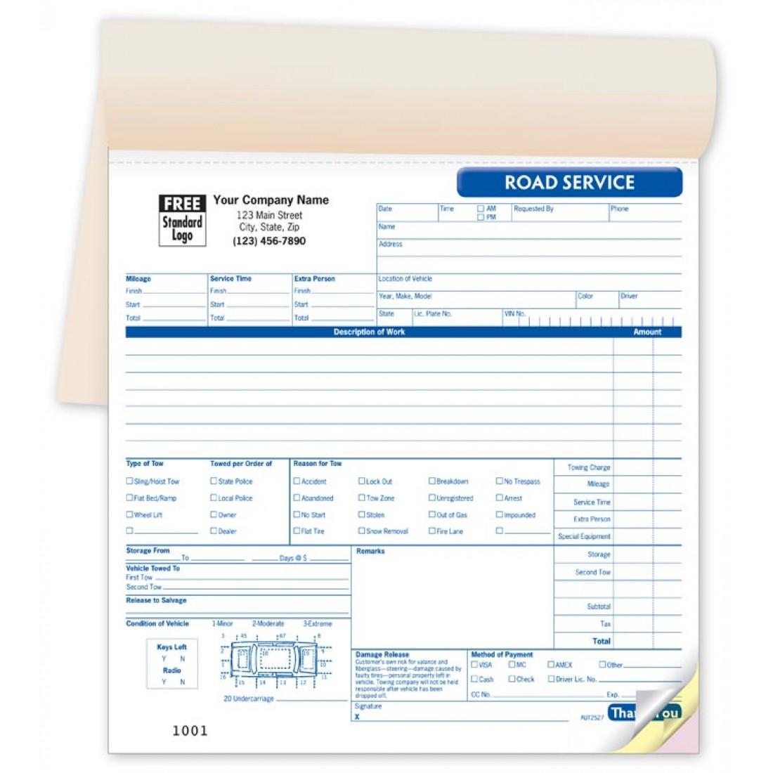 Road Service Book