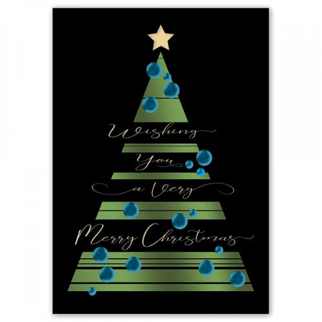 Royal Glow Christmas Cards Item No. H08600 Size: 5 5/8\