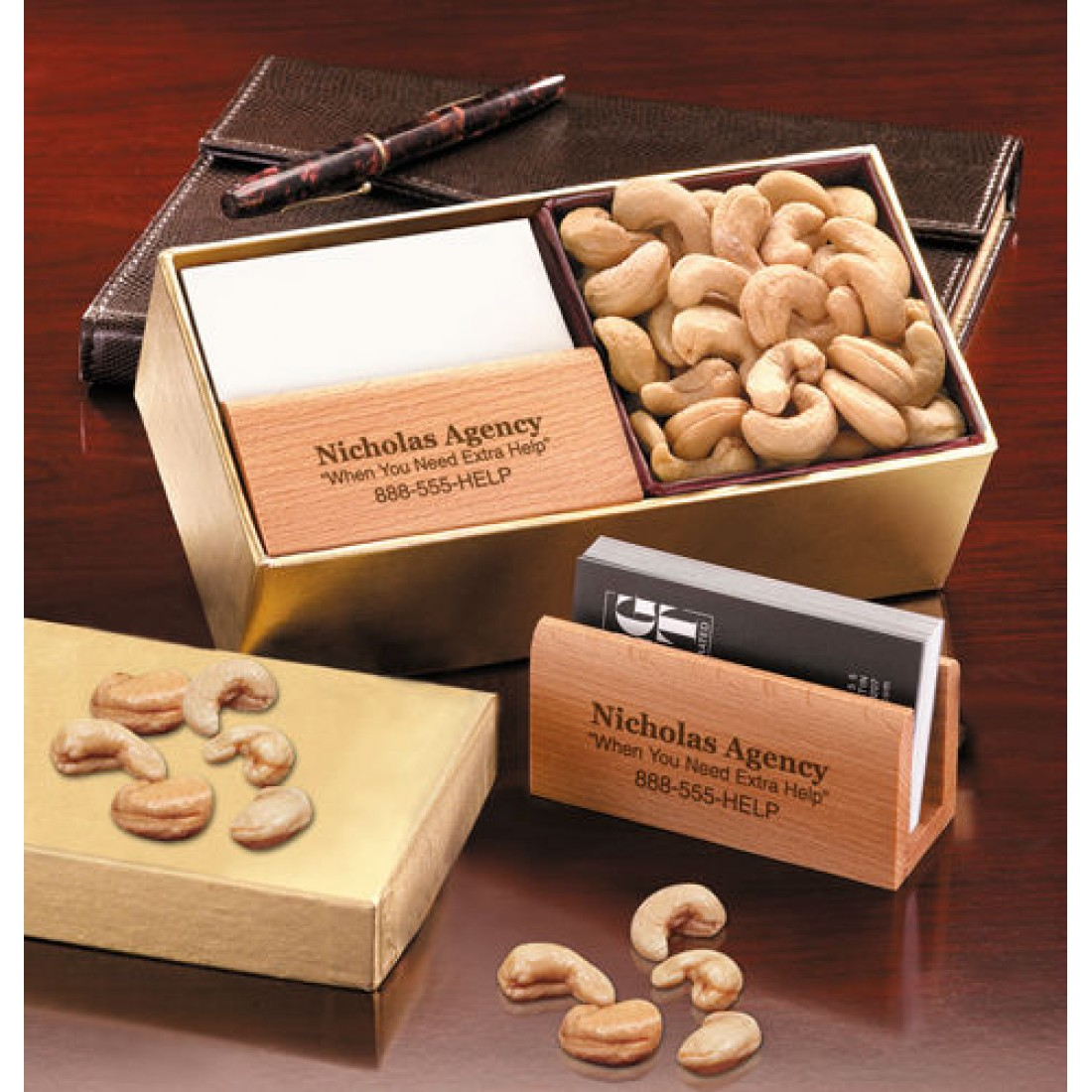 Bch102 save 20 executive business card holder with extra fancy bch102 save 20 executive business card holder with extra fancy jumbo cashews colourmoves