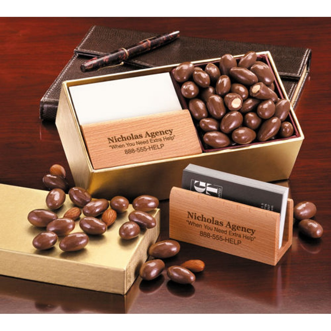 BCH124, SAVE 20% - Executive Business Card Holder with Milk ...