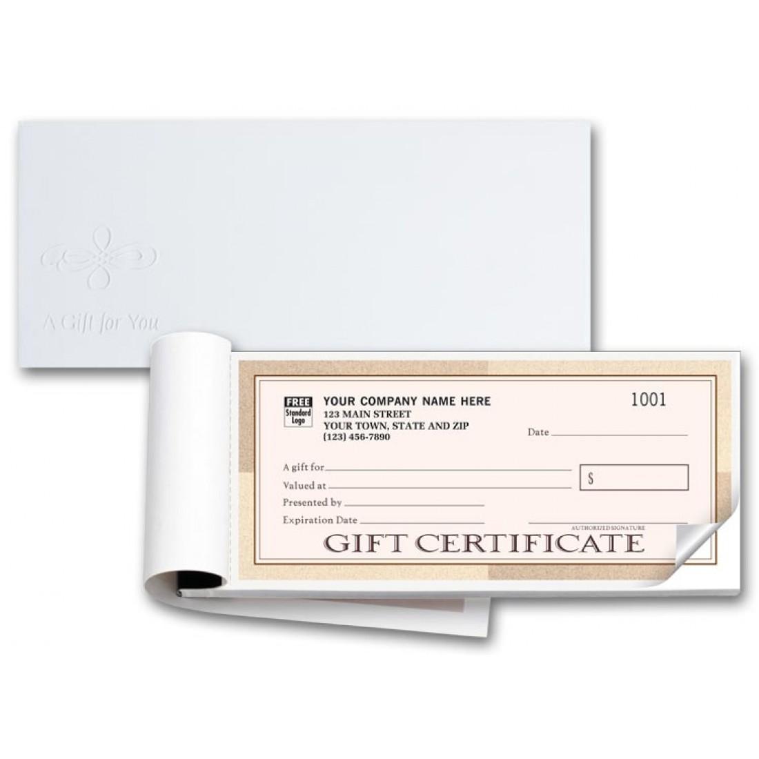 Santa Fe Customer Gift Certificate Books