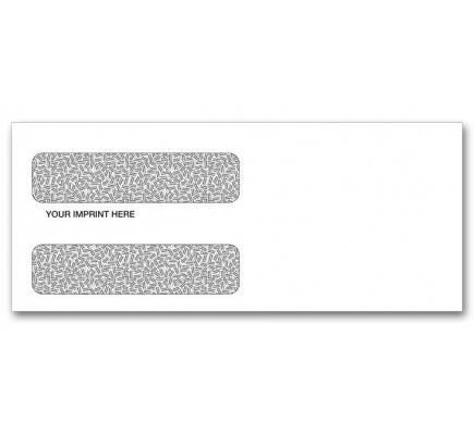Secure Check Two Window Envelopes