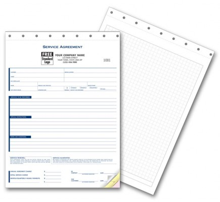 Service Agreement Forms with Grid