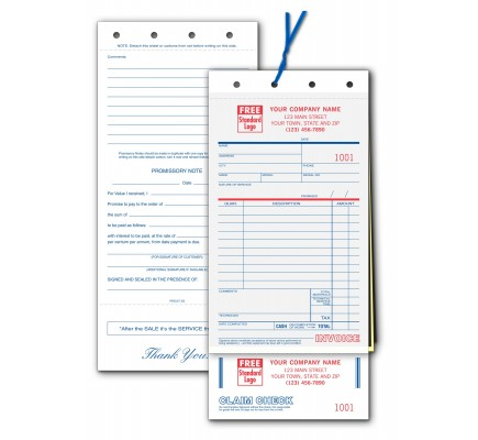 Service Order Forms wth Claim Checks
