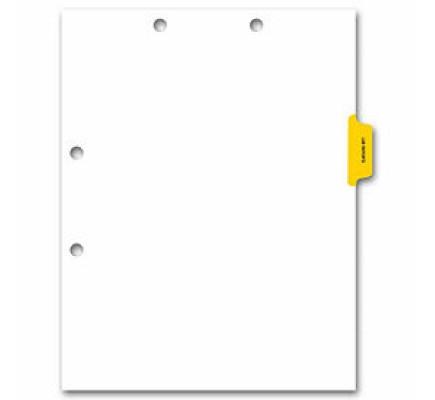 Side Tab Chart File Divider, Lab Reports Tab