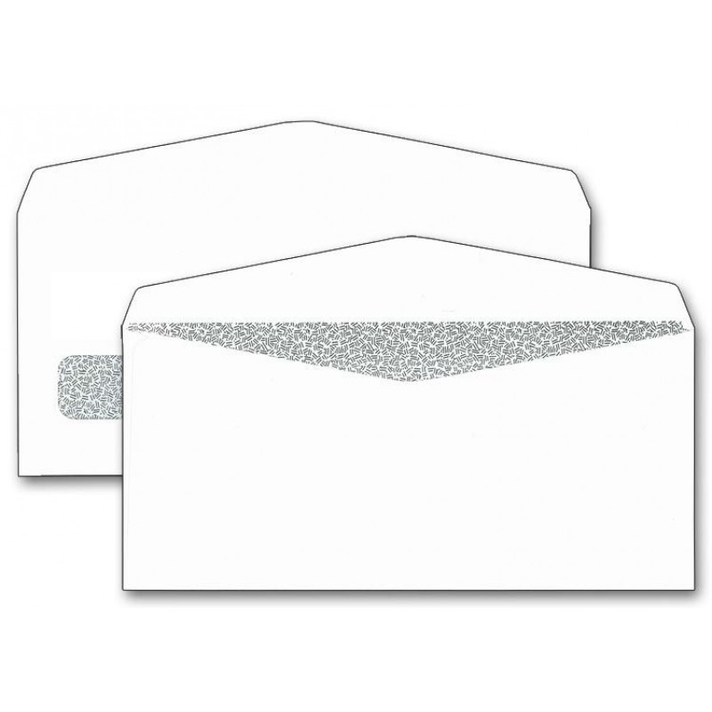 Single Window Confidential Check Envelopes (5380) - Business Envelopes   - Envelopes
