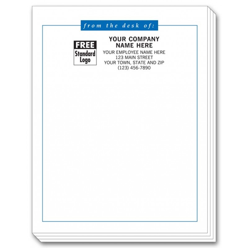 """... Sticky Note Pads (4"""" x 6"""" w/ 25 Sheets) 