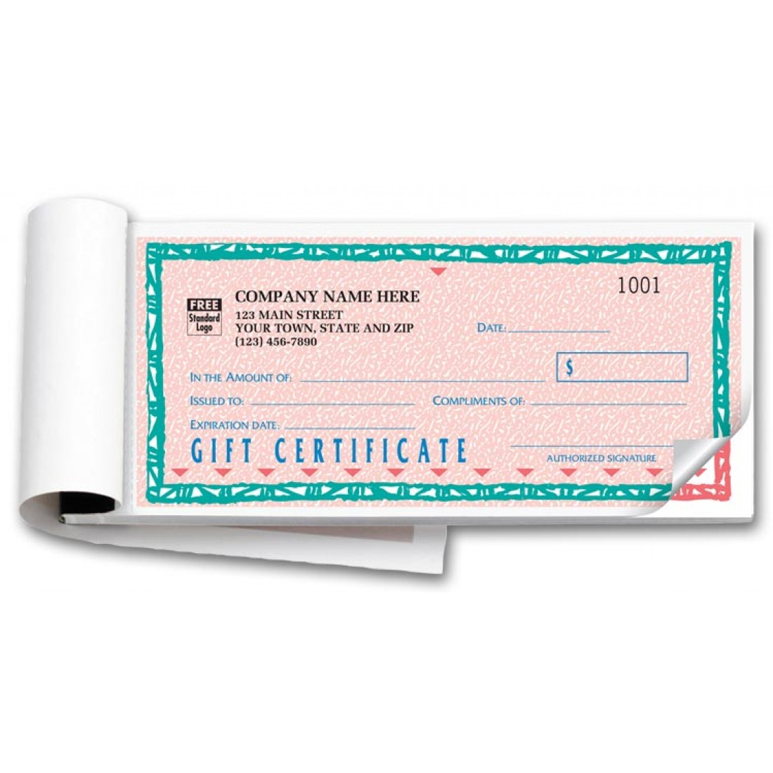St. Croix Custom Gift Certificate Forms