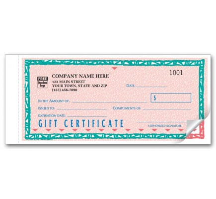 St. Croix Gift Certifcate Form