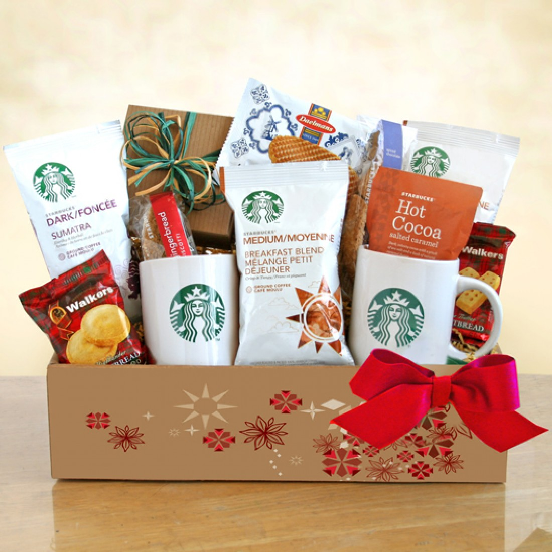 Starbucks Coffee Holiday Hampers | Free Shipping