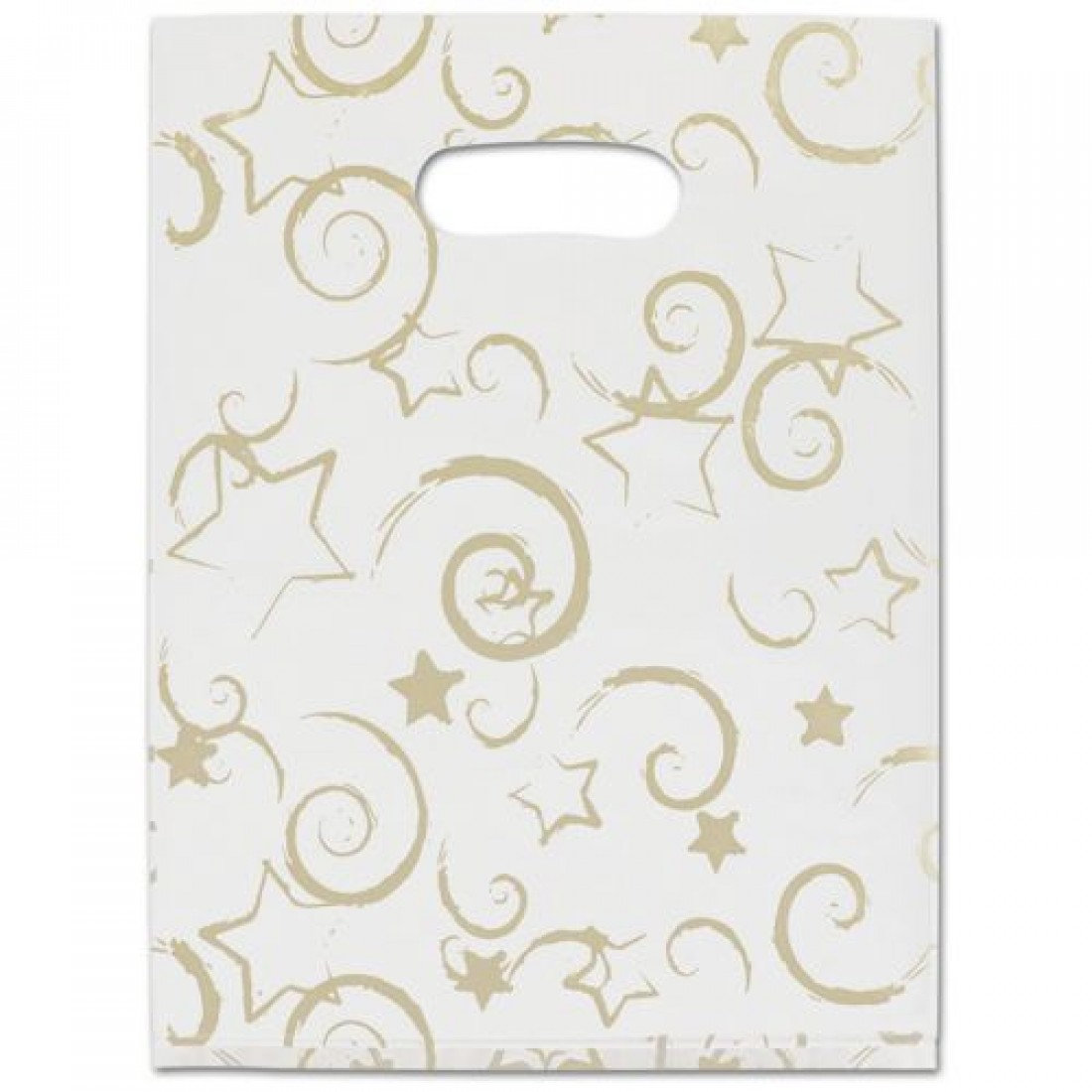 Stars Frosted Merch Bag 9x12