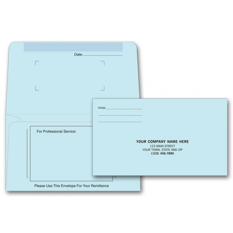 Statement Form with Return Envelopes