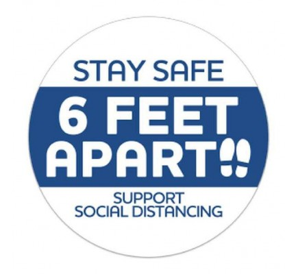 Stay Safe Stickers
