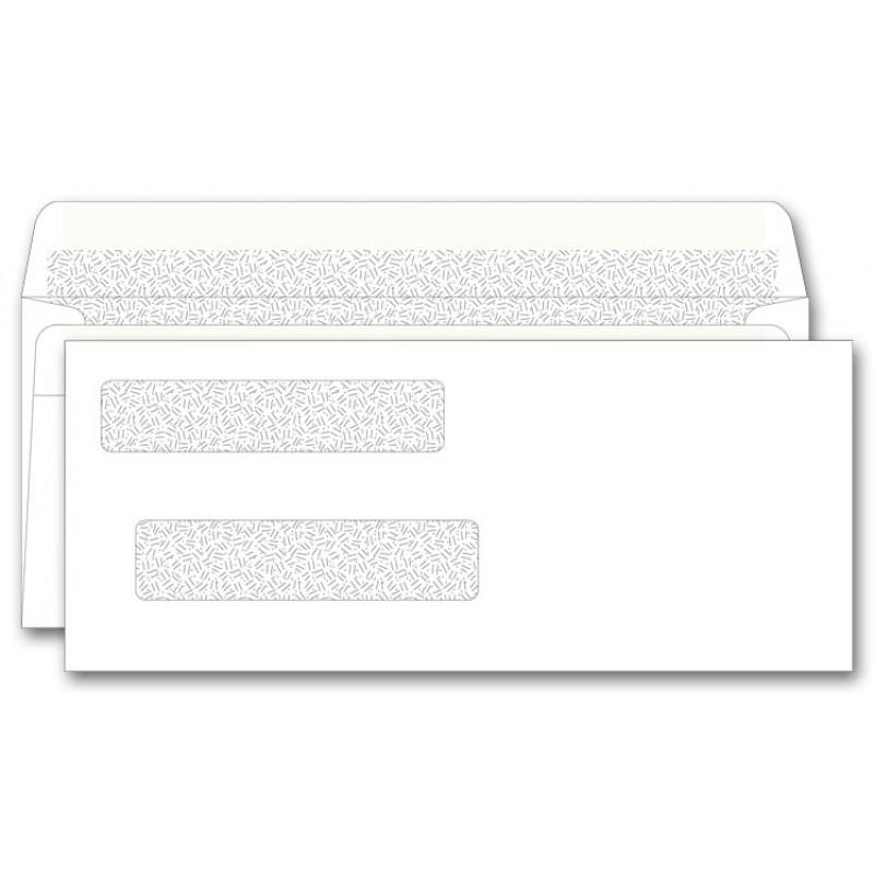 Superior Self Seal Double Window Envelopes